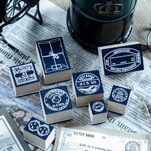 Journaling Stamp Scrapbooking Yoofun Wooden DIY Collector's Notes-Series Student 1-Pc/design