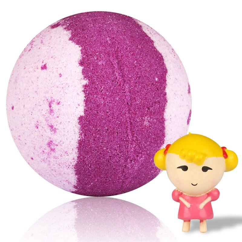 6/12 Pcs Soap Handmade Colorful Bubble Shower Salt Handmade Moisturizing Soap Bath Essential Oil Salt Bath Bomb Ball Gift Kit