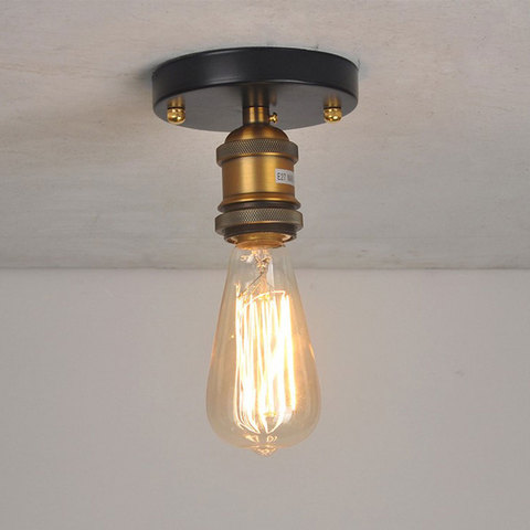 industria retro loft lampada do teto de