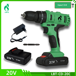 12V 20V Cordless Wireless Lithium Battery Rechargeable Hand Impact Drill Mini Portable Screwdriver DIY Electric Power Tools