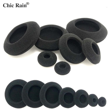 Foam Ear Pads Thicken Sponge Replacement Cushions Covers Earphones for Headphones 35mm 40mm 50mm 55mm 60mm 70mm 80mm 2pcs/pair