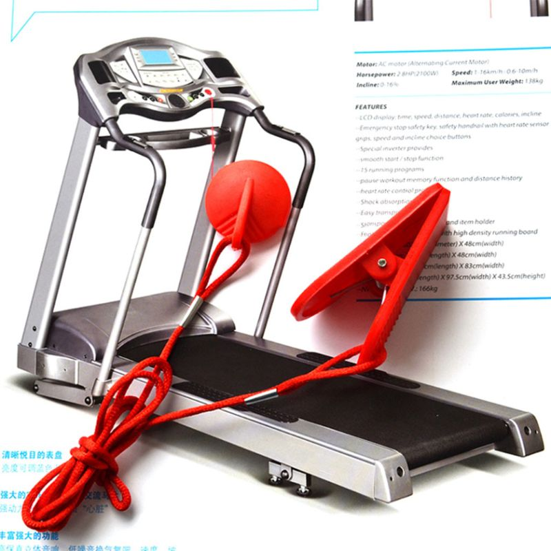 Galleria fotografica Running Machine Safety Key Treadmill Magnetic Security Switch Lock Fitness Universal Accessories