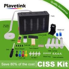 Plavetink класса люкс DIY СНПЧ Бак для hp 121 122 123 140 141 300 301 302 304 650 652 21 22 901 350 351 60 61 картридж с чернилами для принтера