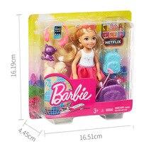 Original Barbie Mini Doll Accessories Gift Toys for Girls Pink Fashion Bonecas Fashionista Princess Kids Toys for Children Gift