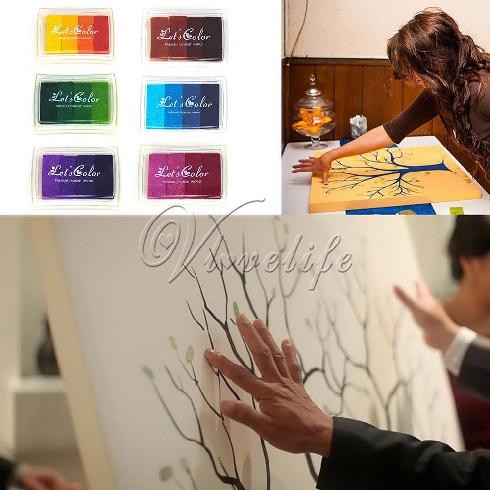 Разноцветные сапоги для дождя с возможностью креативного самостоятельного выбора между масло набор резиновых штампов штемпельная подушеч...