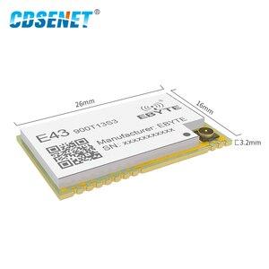 Image 2 - 868MHz 915MHz אלחוטי משדר SMD מודול 13dBm IPEX E43 900T13S3 UART נמוך צריכת חשמל RSSI משדר מקלט