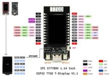 ESP32 T-Display WiFi Bluetooth Module Development Board For Arduino 1.14 Inch LCD stm8s103f3p6 arm stm8 minimum system development board module for arduino