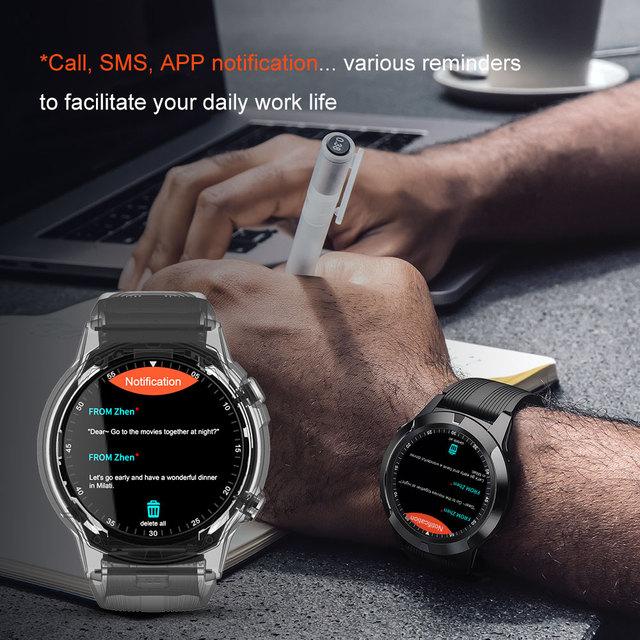Lokmat Time Bluetooth Call Smart Watch GPS Fitness Tracker IP67 Waterproof Smartwatch Support Phone Calls SIM Card For Women Men 5