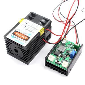 Image 4 - Oxlasersハイパワー1ワット1000mw 520nmグリーンレーザーモジュールレーザー鳥リペラーダイオードレーザー冷却ファンロングデューティ · サイクル