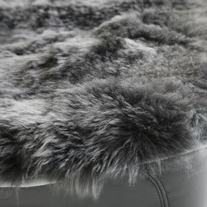 Image 3 - AUTOROWN الطبيعي الاسترالي جلد الغنم مقعد السيارة يغطي ل المقعد الأمامي 1 قطعة حجم عالمي سيارة وسائد للمقعد الداخلية اكسسوارات