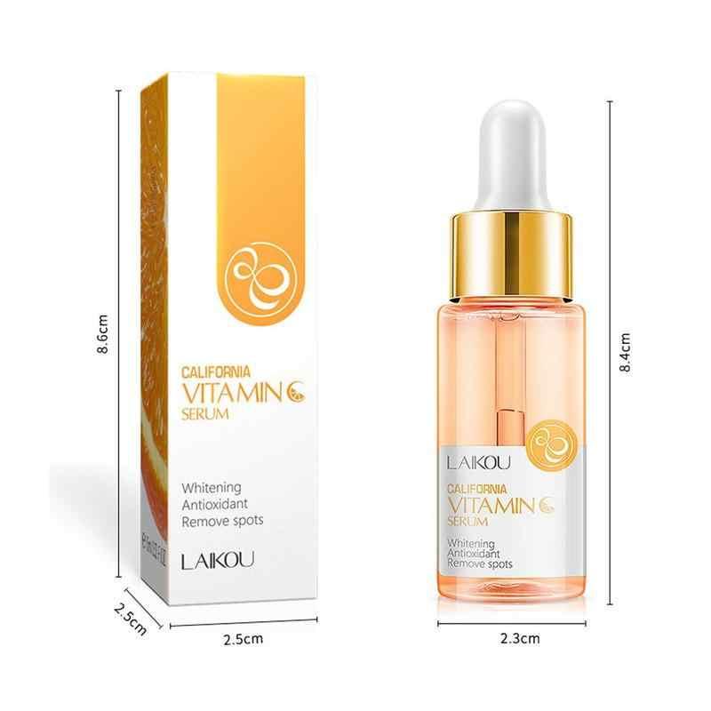 Suero Facial blanqueador de 15ml de caracol dorado con vitamina C, suero Facial japonés, ácido hialurónico, suero Facial para el cuidado de la piel, reparar el cuidado de la piel