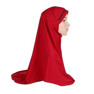 Image 5 - Plain Scarf Women Muslim One Piece Amira Hijab Islamic Hijabs Head Cover Wrap Shawl Turban Niqab Soft Headscarf Arab Khimar New
