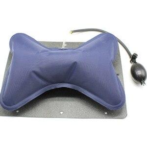 Image 4 - Auto Handmatige Bediening Handbediende Tournure Seat Lumbale Terug Hoofdsteun Taille Kussen Rugsteun Voor Seat Interieur Accessoires