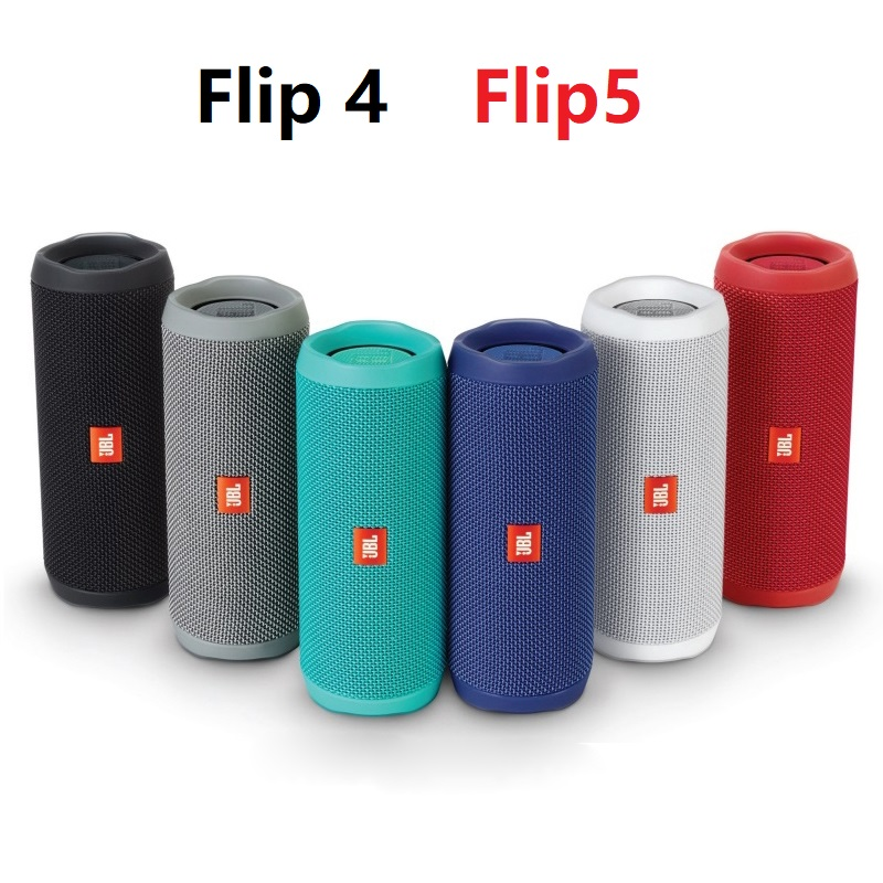 Flip 5 Flip 4 Bluetooth Powerful Speaker Wireless Waterproof BT Speaker with Bass and Stereo Sound Music PK Clip 3 Charge 4