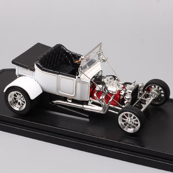 1/18 Road Signature classic cars vintage 1925 Ford T-Bucket t model top up Die cast Toy Vehicles scale car model miniatures gift 1 43 scale mini yat ming classic 1957 ford ranchero falcon fairlane coupe metal die cast pickup pick up truck van car model kids