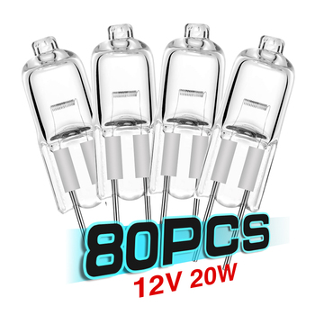 80 piezas G4 20W 12V lampara de cristal de ampolla lampara lámpara...