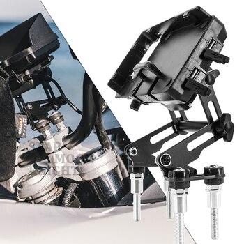 Soporte de navegación para teléfono móvil extensible ajustable para motocicleta carga de Teléfono USB para BMW F900R F900XR S1000R F900 X R