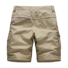 2020 New Men's Urban Military Cargo Shorts Cotton Outdoor Short Pants High Quali