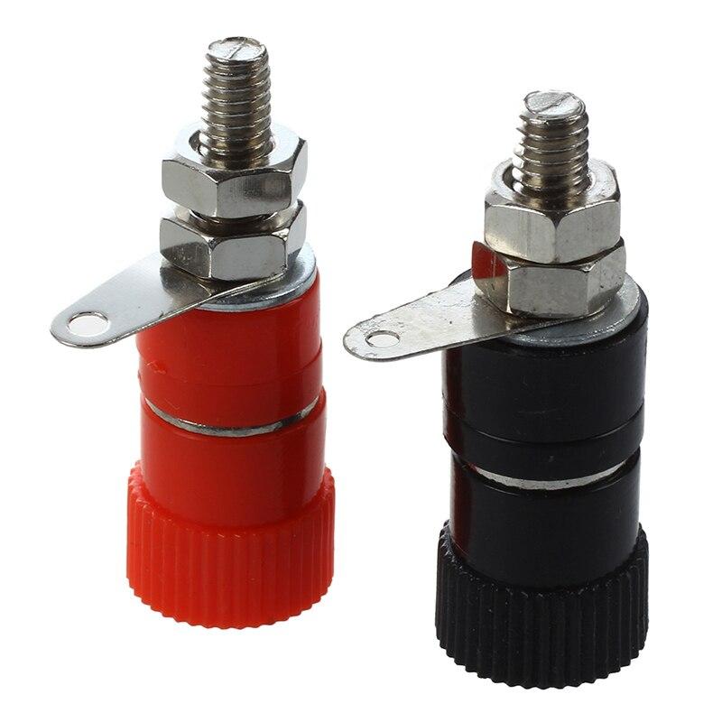 10 Pcs 3.8mm Thread 4mm Banana Plug Socket Binding Post Replacement