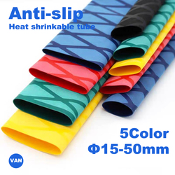 1M 15-50mm 5 colors  Anti-slip heat shrink tube for fishing rod DIY electrical insulation Waterproof Racket Handle Grip