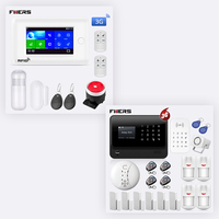 FUERS 3G G90B GSM WIFI Security Alarm System PG106 GPRS WiFi Wireless GSM Smart Home Security Alarm System APP Remote Control