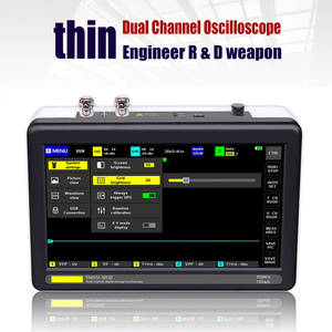 Digital Storage 8MB For Electronic Maintenance Oscilloscope Set Handheld Mini Analyzer Intelligent Pocket Sized 7inch Screen