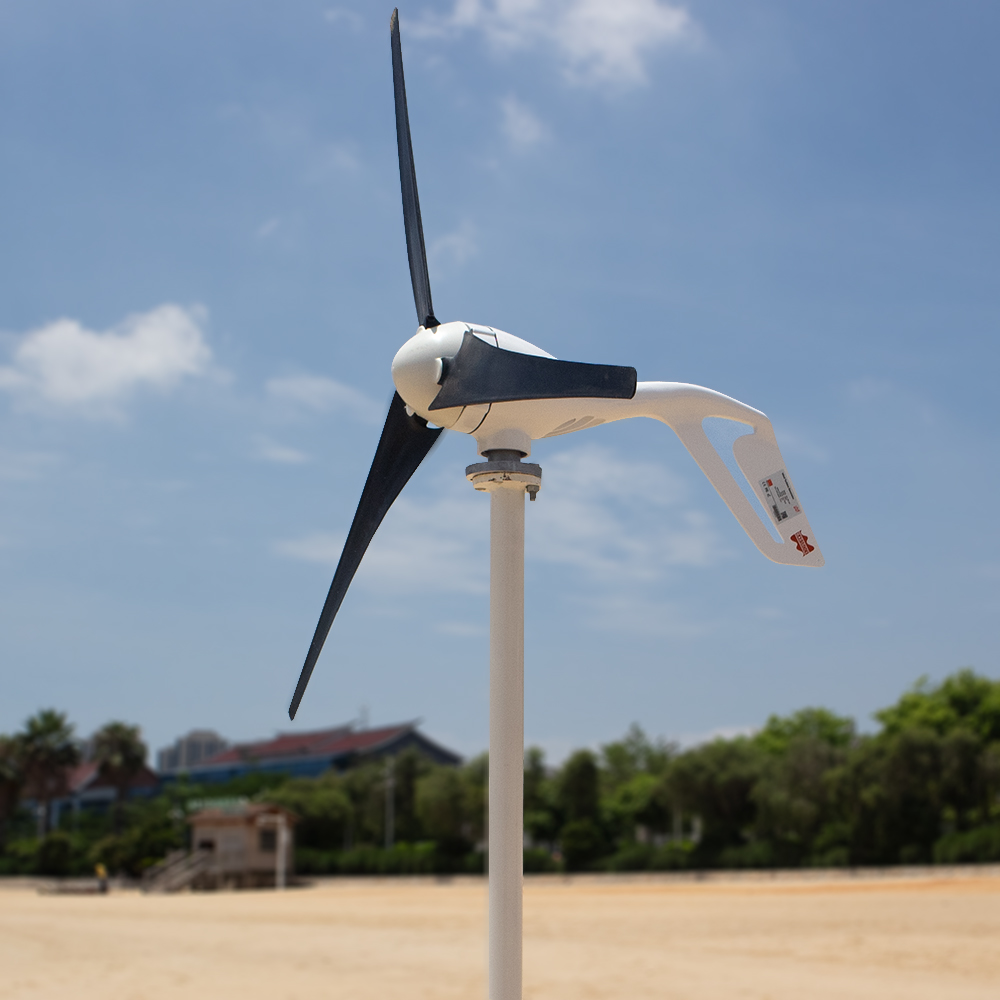 H43f19a442f414f5b897f95f7ce81418bS - Small Wind Turbine Generator 400W Mini Windmill WindTurbine Controller 3/5/6 blades Home gerador eolico Charge for Marine Boat