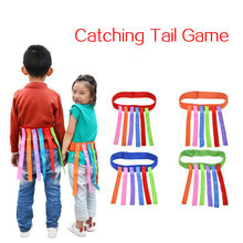 Kids Funny Outdoor Game Catching Tail Training Equipment Toys For Children Adult Kindergarten Boys Girls Teamwork Sport Game Toy
