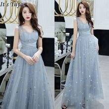 Женское вечернее платье it's yiiya красное Элегантное Длинное