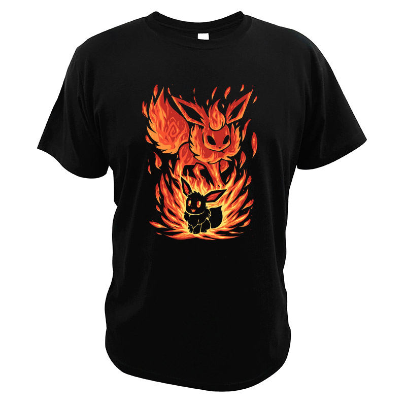 eevee-t-shirt-flareon-the-fire-evolution-within-t-shirts-eu-size-font-b-pokemon-b-font-go-video-game-digital-print-tops