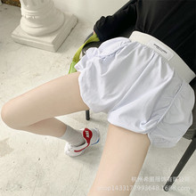2020 spring and summer new girls pants foreign style fold design shorts hot pants wild tide