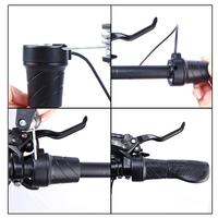 Cycling Mountain Bike Change Electric Vehicle Five-Star Throttle Turning Speed Accelerator Half-Turning Handle 48.2cm*12cm