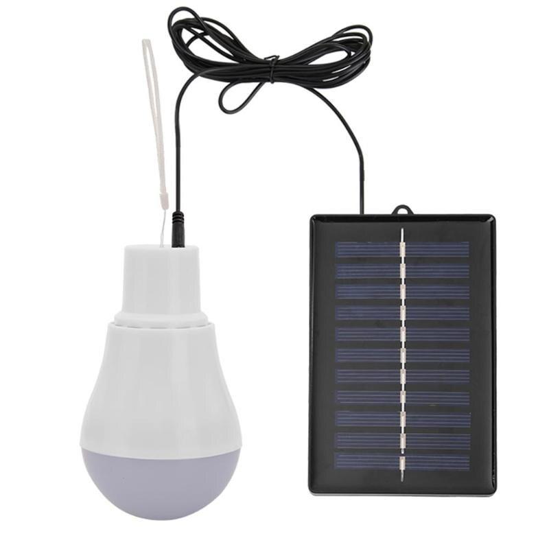 5V 15W 300LM Solar Energy Power Outdoor Light Solar Lamp Portable Bulb Solar Energy Lamp Led Lighting Dropshipping