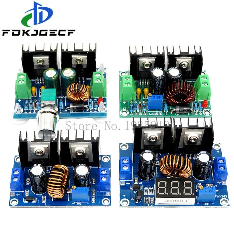XH-M401 xl4016e1 regulador de tensão digital pwm adjustabl DC-DC step down buck conversor módulo de fonte de alimentação buck módulo 4-40v 8a
