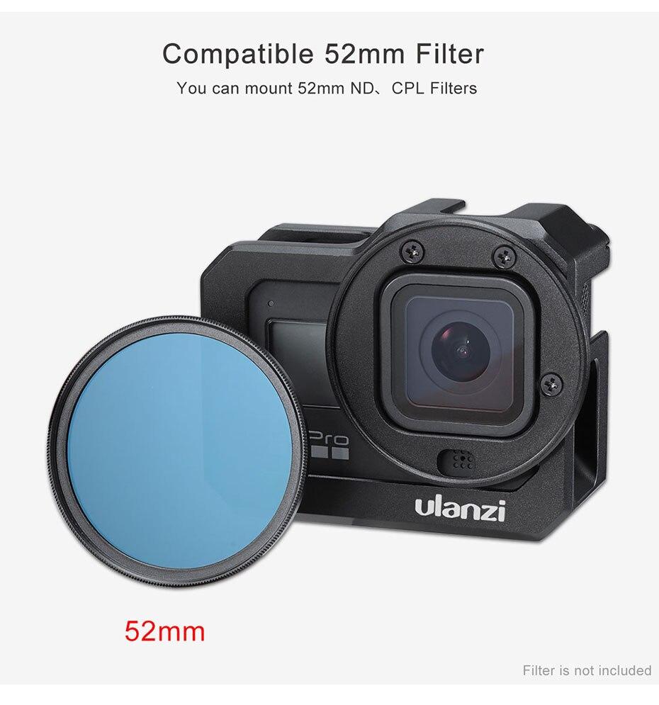 Ulanzi G8-5 gaiola de câmera de metal