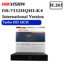 Hikvision Video Surveillance DVR DS 7332HQHI K4 32 CH 1080P 1.5U H.265 DVRสูงสุด48กล้องเครือข่าย4อินเทอร์เฟซSATA