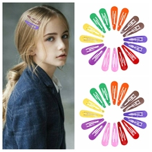 Hot Baby Girls Hair Clips Accessories Women Alloy Snap Hair Clips For Styling Teen Girl BB Hairpin Candy Colors Hair Clips Girls fashion 1pc shining stars hairpin women graceful exquesite transparent candy color sweet girls hair clips