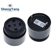 QSI-3610 80 дБ активный пьезоэлектрический зуммер 12 В 24 в звуковой сигнал 36X32 мм Гидроизоляция