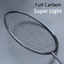 Профессиональная Сверхлегкая ракетка для бадминтона из углеродистой ткани со струнными сумками Raqueta Z speed Force тренировочные ракетки 22-32LBS