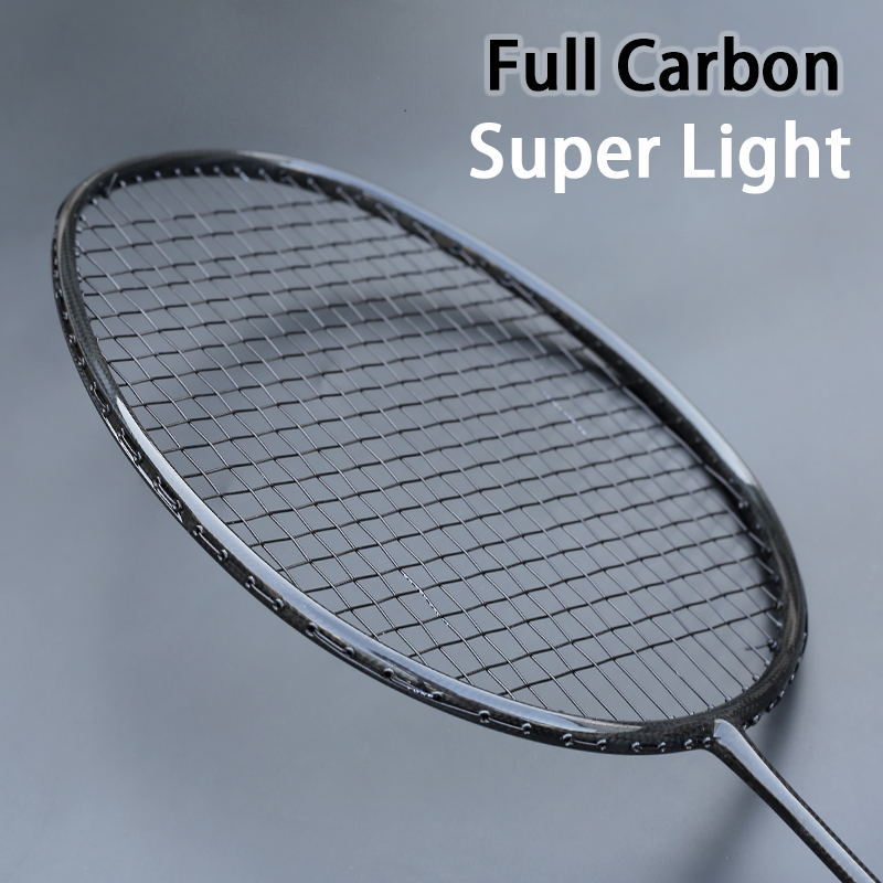 Professional Full Carbon Weave Ultralight Badminton Racket With String Bags Raqueta Z Speed Force Training Rackets 22-32LBS