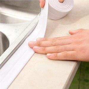 3.2m Bathroom Kitchen Shower water proof mould proof tape Sink Bath Sealing Strip Tape Self adhesive Waterproof adhesive plaster