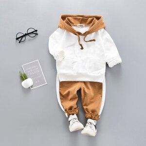 Image 1 - Crianças roupas primavera outono meninos agasalho da criança meninas conjunto de roupas crianças meninos ternos para meninas conjuntos de roupas