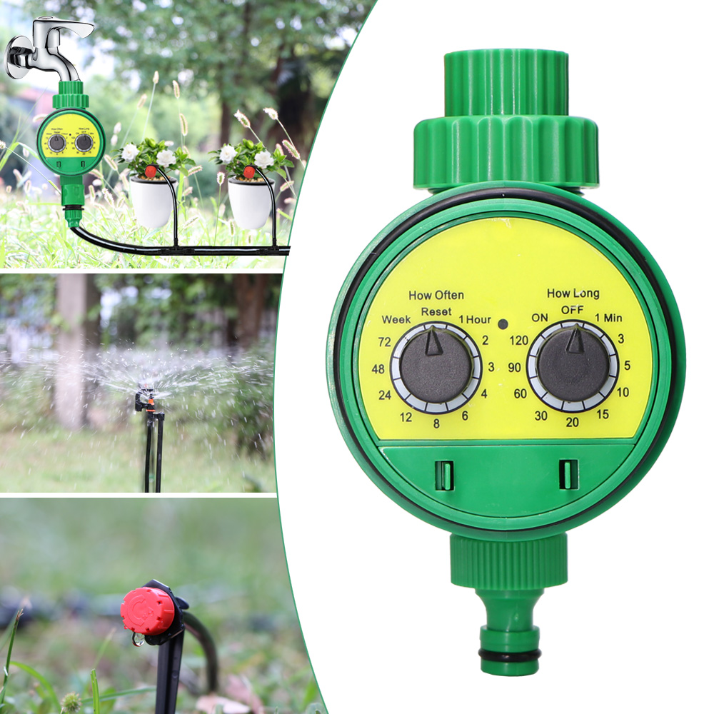 MUCIAKIE Timer-System Sprinkler-Timer Irrigation Electronic-Watering-Controller Digital title=