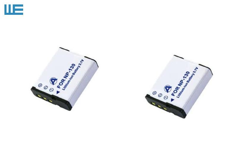 NP-130, NP130, NP-130DBA CNP-130 CNP130 Батарея для объектива с оптическими зумом Casio Exilim EX-H30 ZR100 ZR200 ZR300 ZR400 ZR410 ZR700 ZR1000 ZR1500 - Цвет: Черный