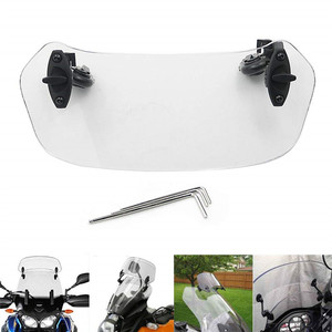 Risen Adjustable Extension Windscreen Windshield Spoiler Screen for Honda XL600V/XL650V/XL700V Transalp NC700X CB500X XL125V(China)