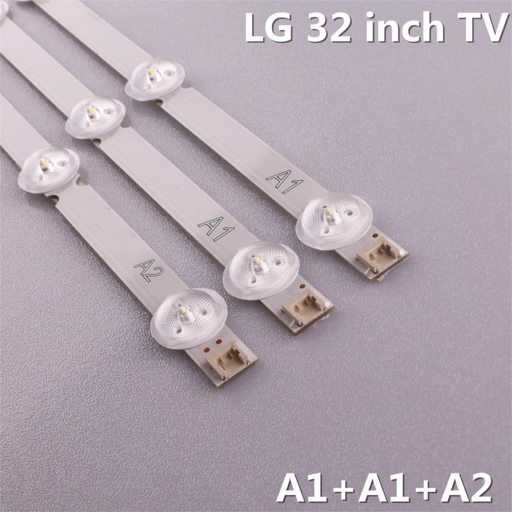 Image 3 - 3pcs(2*A1*7LED,1*A2*8LED)LED backlight bar for LG 32 6916L 1204A  6916L 1205A 6916L 1105A 6916L 1106A 6916L 1295A 1296AIndustrial  Computer