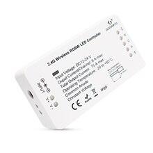 Умный дом с технологией ZIGBEE светодиодный контроллер rgbww для светодиодный полосы совместимы с эффектом эхо плюс zigbee 3,0 концентратор smartthings DC12-24V светодиодный