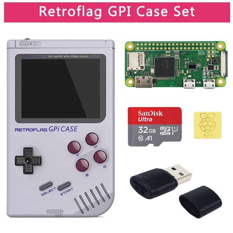 Coque d'origine Retroflag GPi compatible avec Raspberry Pi Zero W