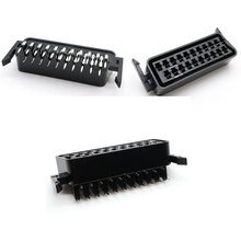 CS 104 21Pin SCART way Jack Scocket Plug Connector High Quality double dual row pcb mount