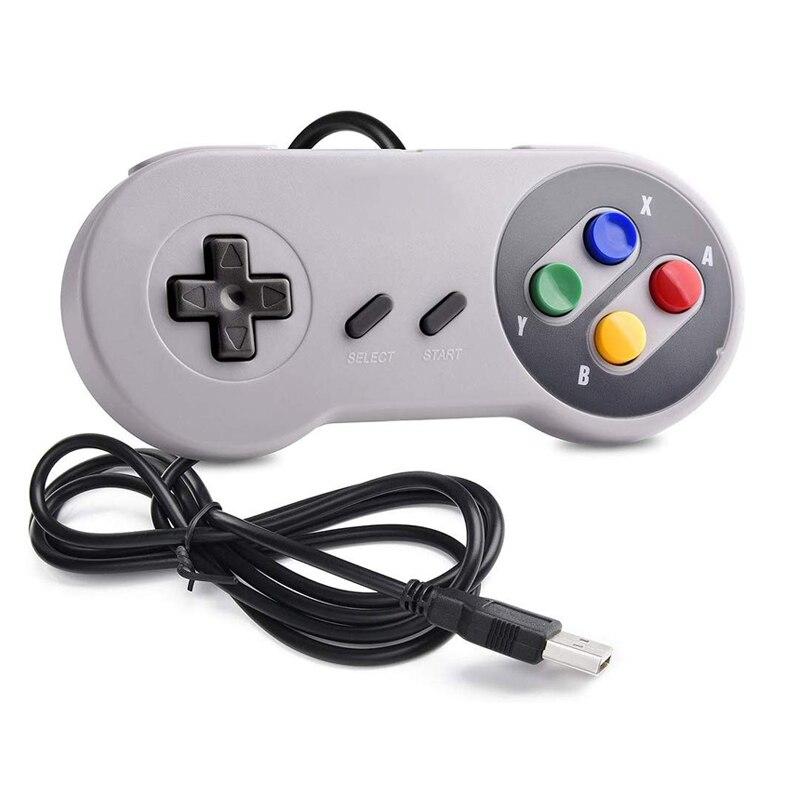 Игровой контроллер USB, игровой джойстик, геймпад для nintendo SNES, игровой коврик для Windows PC MAC, компьютер для Raspberry Pi